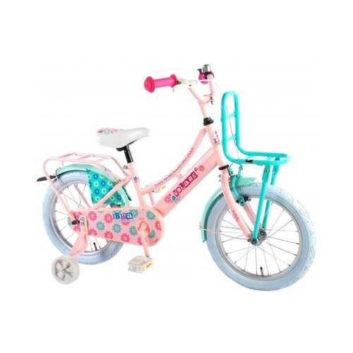 Volare Volare Ibiza Kinderfiets - Meisjes - 16 inch - Roze - 95% afgemonteerd
