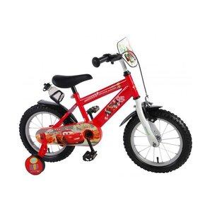 Volare Disney Cars Kinderfiets - Jongens - 14 inch - Rood
