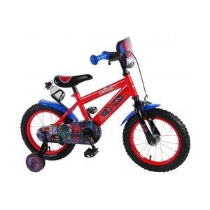 Volare Ultimate Spider-Man Kinderfiets - Jongens - 14 inch - Rood Blauw