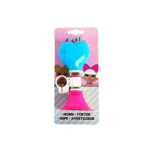 Volare LOL Surprise Fietstoeter - Meisjes - Roze Blauw