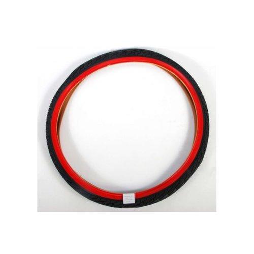 Volare Volare Buitenband - 24 inch - Rood Zwart - Kinderfiets