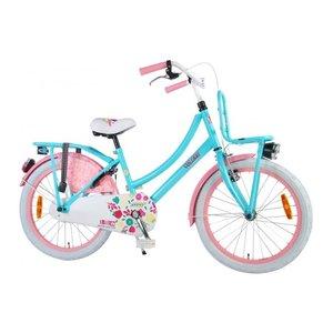 Volare Volare Ibiza Kinderfiets - Meisjes - 20 inch - Blauw/Roze - 95% afgemonteerd