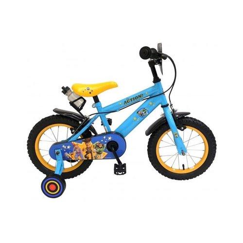 Volare Disney Toy Story Kinderfiets - Jongens - 14 inch - Blauw - 2 handremmen