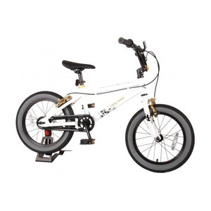 Volare Volare Cool Rider Kinderfiets - Jongens - 16 inch - Wit - twee handremmen - 95% afgemonteerd