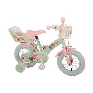 Volare Woezel & Pip Kinderfiets - Meisjes - 12 inch - Mint/Roze