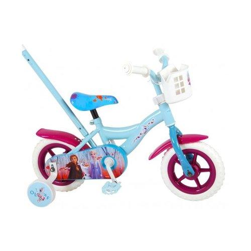 Volare Disney Frozen 2 Kinderfiets - Meisjes - 10 inch - Blauw/Paars