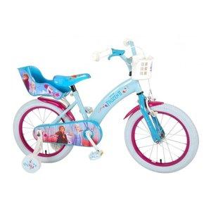 Volare Disney Frozen 2 - Kinderfiets - Meisjes - 16 inch - Blauw/Paars
