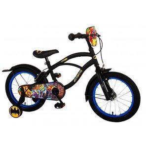 Volare Batman Kinderfiets - Jongens - 16 inch - Zwart - 2 handremmen