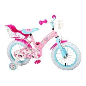 Volare OJO Kinderfiets - Meisjes - 14 inch - Roze