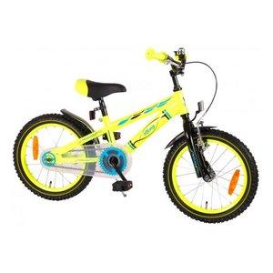 Volare Volare Electric Neon Kinderfiets - Jongens - 16 inch - Geel