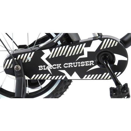 Volare Volare Black Cruiser Kinderfiets - Jongens - 14 inch - Zwart - 95% afgemonteerd