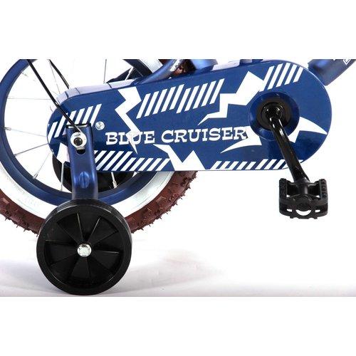 Volare Volare Blue Cruiser Kinderfiets - Jongens - 12 inch - Blauw - 95% afgemonteerd