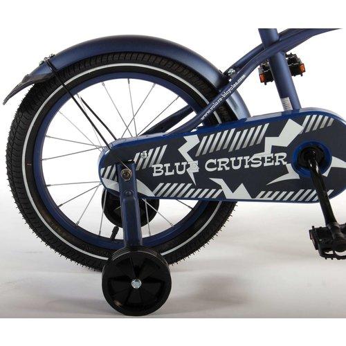 Volare Volare Blue Cruiser Kinderfiets - Jongens - 16 inch - Blauw - 95% afgemonteerd