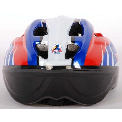 Volare Volare Fietshelm - Skatehelm Deluxe Rood Blauw Wit 51-55 cm