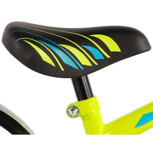 Volare Volare Electric Green Kinderfiets - Jongens - 14 inch - Neon Groen - 95% afgemonteerd