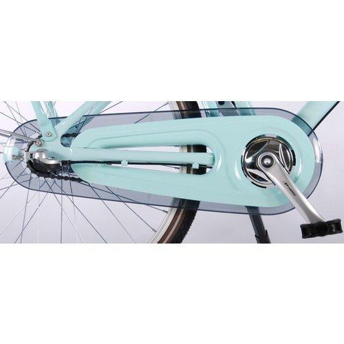 Volare Volare Excellent Kinderfiets - Meisjes - 24 inch - Mint Blauw - Shimano Nexus 3 versnellingen - 95% afgemonteerd