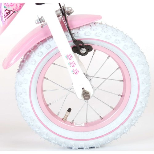 Volare Volare Rose Kinderfiets - Meisjes - 12 inch - Roze - 95% afgemonteerd