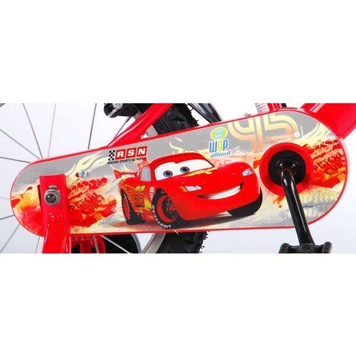 Volare Disney Cars Kinderfiets - Jongens - 14 inch - Rood - 2 handremmen