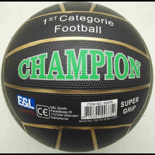 Volare Straatvoetbal Champion - Rubber - maat 5 - 380-420 gram - Verschillende Kleuren - Assorti