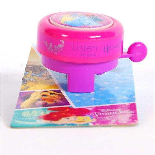 Volare Disney Princess Fietsbel - Meisjes - Roze
