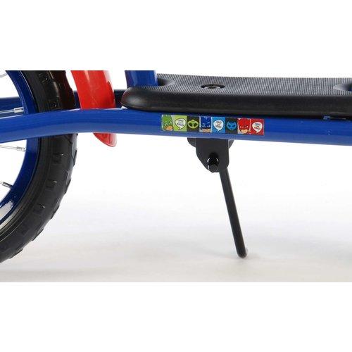 Volare Loopfiets - Jongens - 12 inch - Blauw/rood - Deluxe