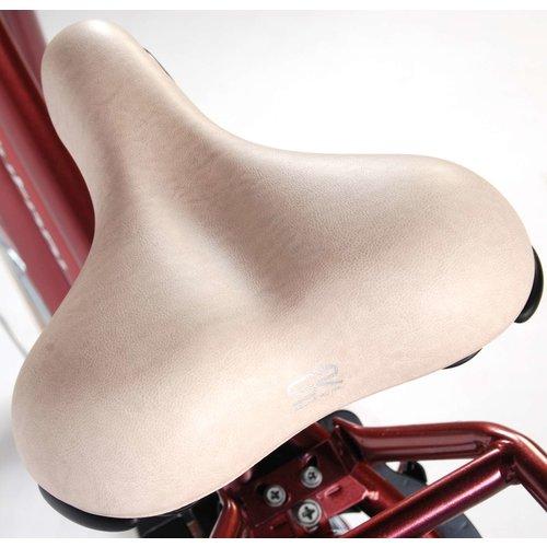 Volare SALUTONI Excellent Stadsfiets - Vrouwen - 28 inch - 50 centimeter - Bordeaux - Shimano Nexus 3 versnellingen - 95% afgemonteerd