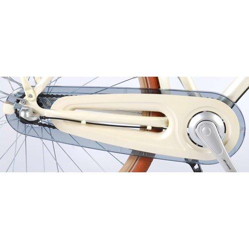 Volare SALUTONI Excellent Stadsfiets - Vrouwen - 28 inch - 50 centimeter - Parelmoer - Shimano Nexus 3 versnellingen - 95% afgemonteerd