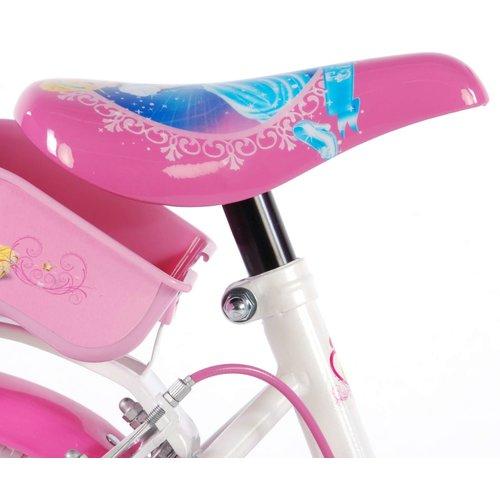 Volare Disney Princess Kinderfiets - Meisjes - 16 inch - Roze - 2 handremmen