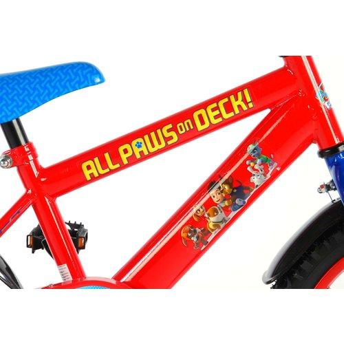 Volare Paw Patrol Kinderfiets - Jongens - 16 inch - Rood Blauw