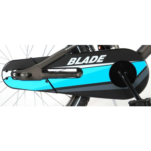 Volare Volare Blade Kinderfiets - Jongens - 18 inch - Grijs - 95% afgemonteerd
