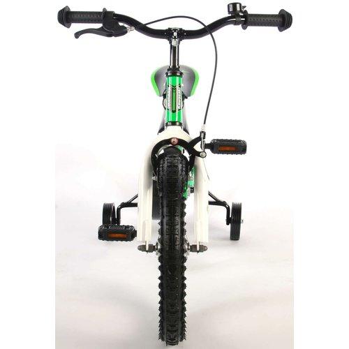 Volare Kawasaki Kinderfiets - Jongens - 16 inch - Groen - 95% afgemonteerd