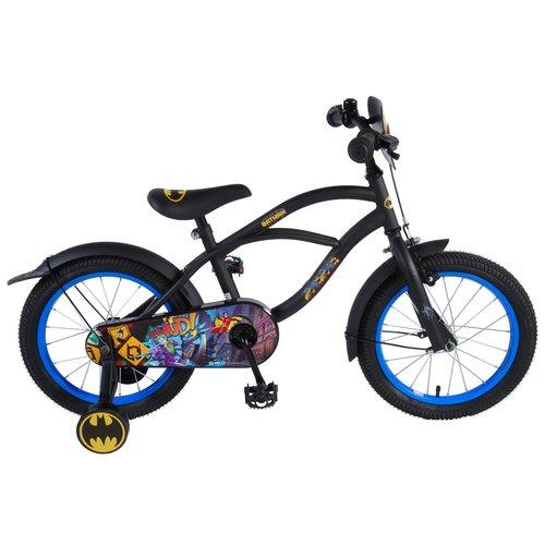 Volare Batman Kinderfiets - Jongens - 16 inch - Zwart