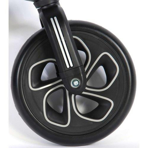 Volare QPlay Tech Loopfiets - Jongens en Meisjes - 10 inch - Zwart