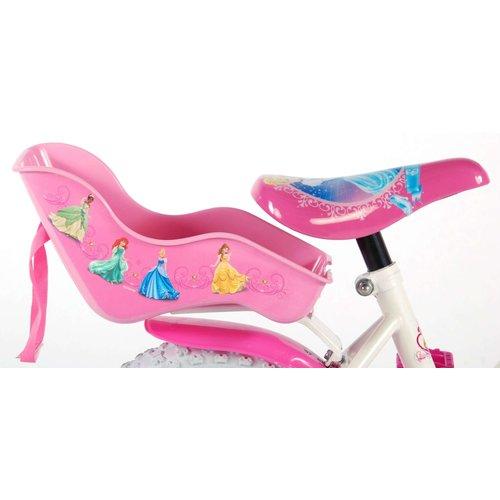 Volare Disney Princess Kinderfiets - meisjes - 12 inch - Roze - Poppenzitje