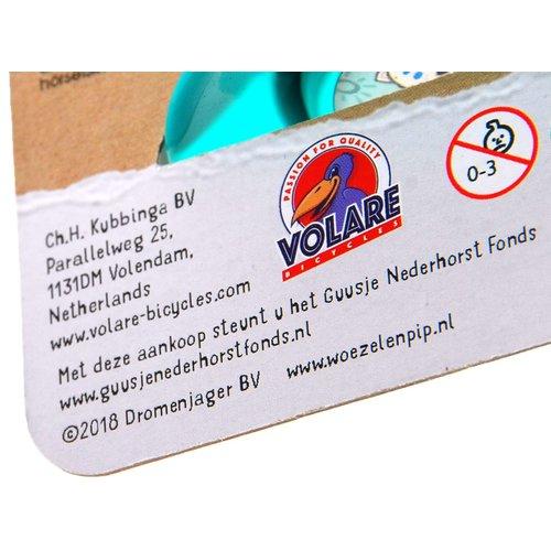 Volare Woezel & Pip Fietstoeter - Kinderen - Mint Blauw