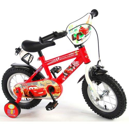 Volare Disney Cars Kinderfiets - Jongens - 12 inch - Rood