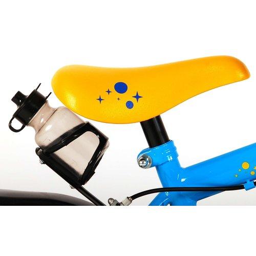 Volare Disney Toy Story Kinderfiets - Jongens - 12 inch - Blauw/Geel - Twee handremmen