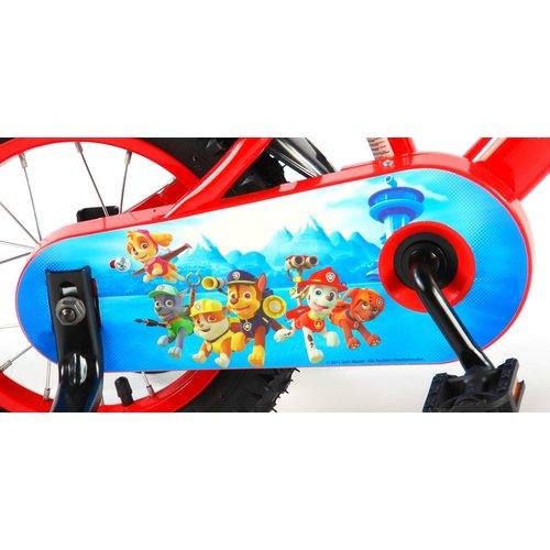 Volare Paw Patrol Kinderfiets - Jongens - 12 inch - Rood/Blauw