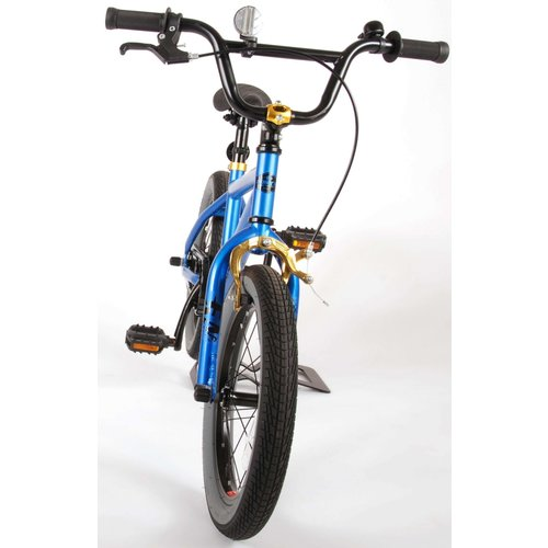 Volare Volare Cool Rider Kinderfiets - Jongens - 16 inch - Blauw - 95% afgemonteerd