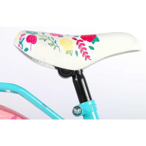Volare Volare Ibiza Kinderfiets - Meisjes - 18 inch - Blauw - 95% afgemonteerd