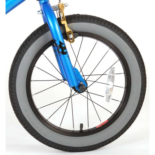 Volare Volare Cool Rider Kinderfiets - Jongens - 16 inch - blauw - twee handremmen - 95% afgemonteerd