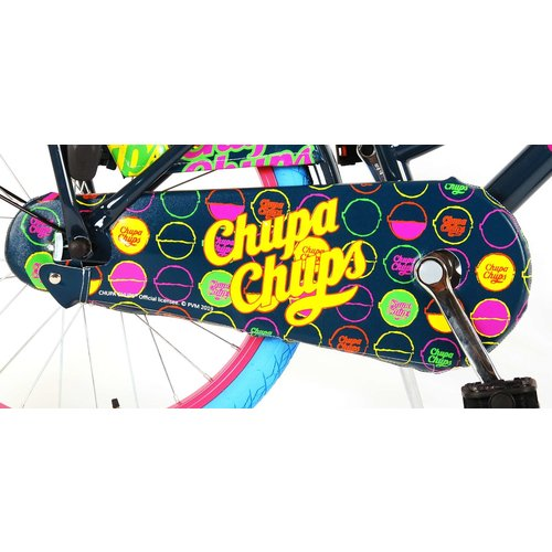 Volare Chupa Chups Oma Kinderfiets - Meisjes - 20 inch - (Donker)Blauw/Roze