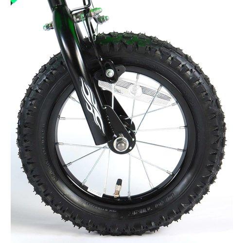 Volare Volare Motorbike Kinderfiets - Jongens - 12 inch - Groen - 2 handremmen