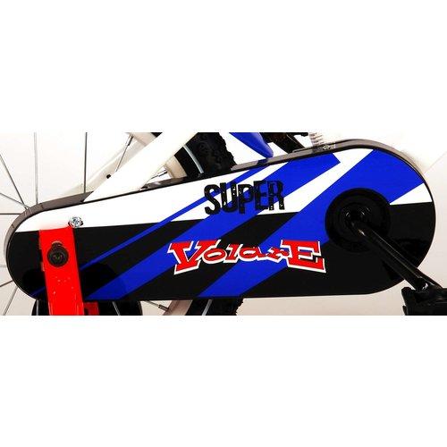 Volare Volare Super Kinderfiets - Jongens - 14 inch - Wit - 95% afgemonteerd