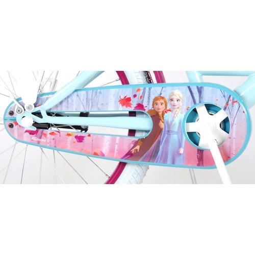 Volare Disney Frozen 2 Kinderfiets - Meisjes - 20 inch - Blauw/Paars