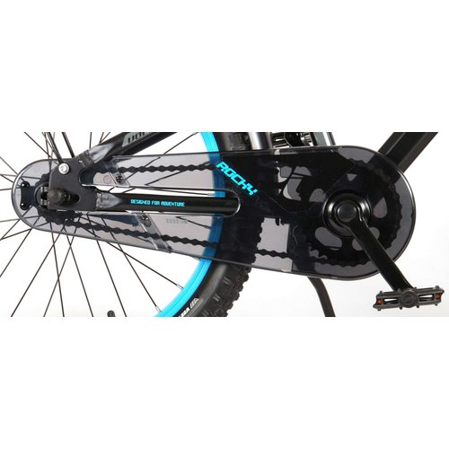 Volare Volare Rocky Kinderfiets - 20 inch - Zwart - 95% afgemonteerd - Prime Collection