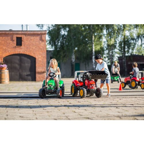 Falk Falk Supercharger - Jongens - Rood - Traptractor