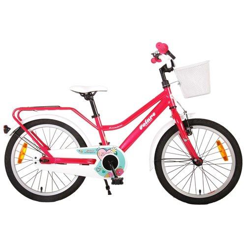 Volare Volare Brilliant Kinderfiets - Meisjes - 18 inch - Roze - 95% afgemonteerd