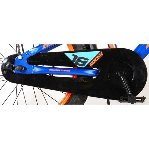 Volare Volare Rocky Kinderfiets - 18 inch - Blauw - 95% afgemonteerd - Prime Collection