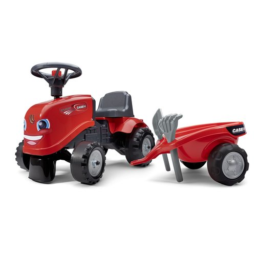 Falk Falk Baby Case IH Ride-On - Jongens - Rood - Tractor